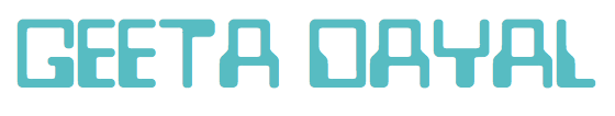 GEETA DAYAL header image
